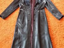 Palton piele france 2 cuir