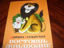 Doctorul Aumadoare - Kornei Ciukovski (1978,ilustrata color)