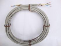 Cablu armat / cordon electric din cupru 3 x 2 mm, 15 ml