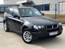 BMW X3 2.0d , 150CP , interior crem , Panoramic , Carte serv