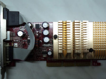Vintage placa video agp msi geforce 6200 256 mb an 2006