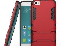 Xiaomi Mi 5 Pro / Mi 5 Husa Hybrid 2 in 1 TPU + PC stand Red