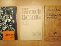 4603-3 carti maghiare scriitori consacrati. 2 carti Anavi Ad