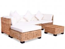 Set mobilier cu canapea 14 piese, culoare 244626