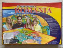 Joc educativ - Sa descoperim România/nou,sigilat.