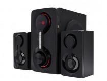 Boxe Serioux 2.1 Soundrise 60w Bluetooth USB AUX SD Radio FM