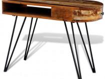 Birou din lemn reciclat cu picioare 241641