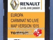 Card Navigatie Renault Carminat Megane Laguna Europa 2019