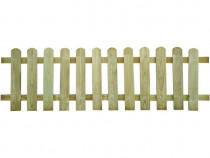 Gard de lemn 200 x 60 cm 41406