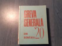 Greva generala din Romania 1920 Nicolae Goldberger