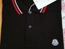 Tricouri bumbac Moncler/Italia,logo brodat,(M si L)