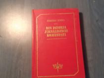 Din istoria jurnalisticii romanesti Dumitru Coval autograf