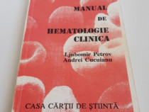 Medicina l petrov manual de hematologie clinica