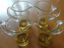 Set 4 cani de sticla