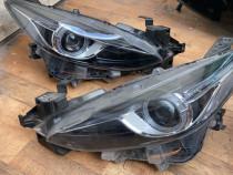 Faruri Far xenon Led Mazda 3 2013 , 2014 , 2015 Stanga și dr