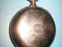 5630-ROSKOPH Carcasa ceas buzunar vechi barbat Acier Garant.