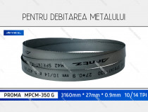 Panza 3160x27x10/14 fierastrau metal PROMA MPCM-350 G banzic
