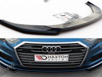 Prelungire splitter bara fata Audi A6 S-Line S6 C8 2019- v1