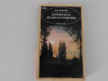 Goethe suferintele tanarului werther