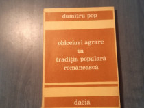 Obiceiuri in traditia populara romaneasca de Dumitru Pop