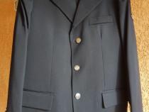 Costume de ceremonie bleu-marin tip IGSU/pompieri + cămăși b