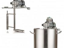 Oala cu agitator / mixer electric pentru gătit gem - 50litri