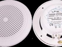Difuzoare waterproof ,4ohm, ,2 cai ,120W,incastrabile,albe