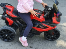Motocicleta electrica 12V Runner Red, 2 motorase cu Garantie