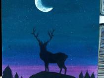 Tablou pictura acrilica
