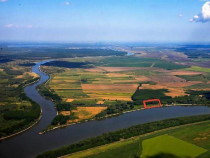 Teren extravilan delta 5000 mp la malul Dunării