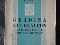 Carte veche manualul bunului politician c banu 1937