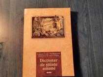Dictionar de stiinte umane Francois Gresle