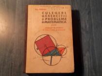 Culegere de exercitii si proble de matematica Gr. Gheba