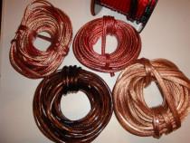 Cablu boxe difuzoare subwoofer cablu putere amplificator aud