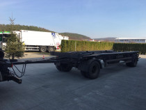 Remorcă port container HKM G 18 ZB