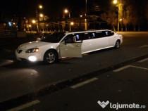 Inchiriez limuzina 10mPONTIAC Unikat Ro FULL evenimente NEG!