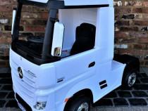 Camion electric pentru copii Mercedes ACTROS 4x4 #White