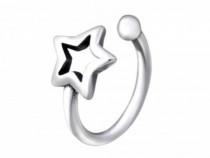 Piercing Nas Din Argint, Stea, Silver A4S28384