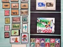 Timbre, serii de timbre neștampilate