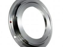 Adaptor M42 - Canon EOS Cromat - include capac spate Canon