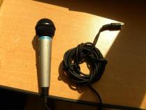Microfon dinamic Hama Profesional - unidirectional cu comuta