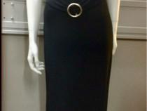 Rochie neagră lunga. Noua. Talia S-M