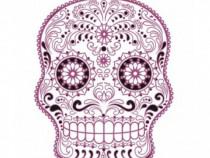 Sticker Decorativ, Skull, 78 Cm, 216STK-8