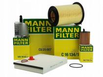 Pachet Revizie Filtre Aer+Polen+Ulei+Combustibil Mann Filter