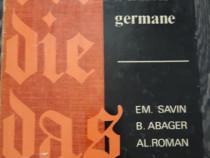 Gramatica practica a limbii germane savin abager editia 1968