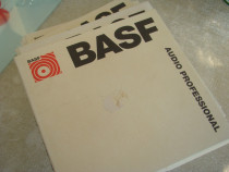Banda Magnetofon BASF 18 cm - Inregistrata o singura data