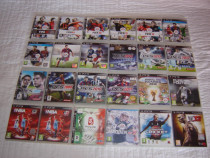 Jocuri PS 3 FiFA si PES Originale