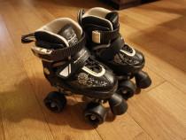 ROOKIE Patine cu rotile pentru copii, reglabile mar 25.5-29
