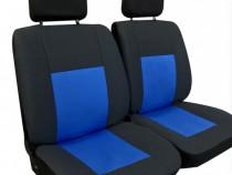 Huse 1+1 din material textil, huse scaune fata diverse culo