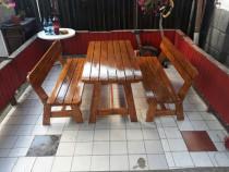 Set masa si banci pentru gradina